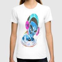 dj T-shirts featuring dj by Fernando Gallegos