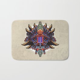 MIXING OF CHINESE FORM (01-fever) Bath Mat
