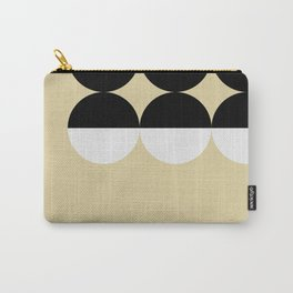 Mid Century Geometric Circles Carry-All Pouch