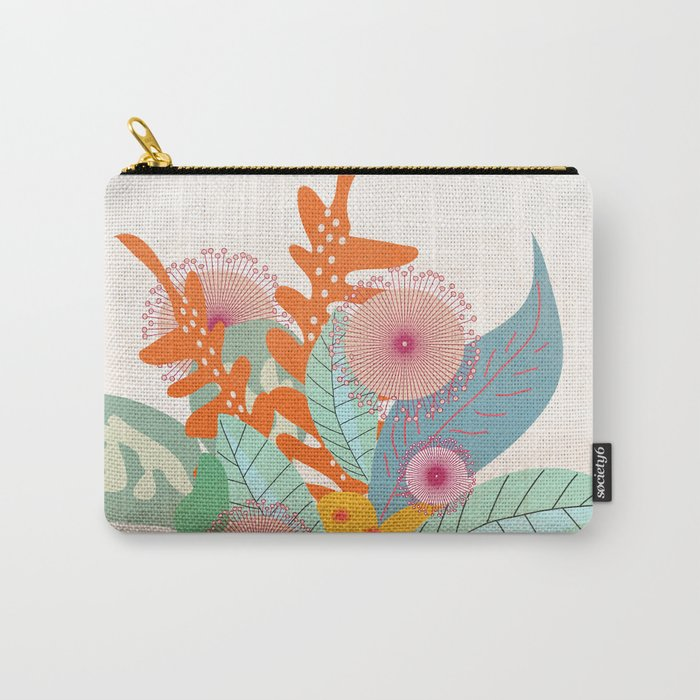 Tropic In A Pot #society6 #buyart #decor Carry-All Pouch