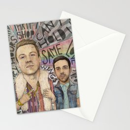 Macklemore & Ryan Lewis - The Heist Stationery Cards