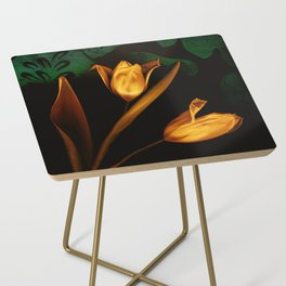 Tulips of the golden age Side Table