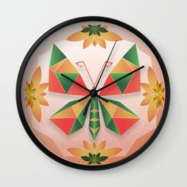 Sealed My Heart ( Anai Greog ) Wall Clock