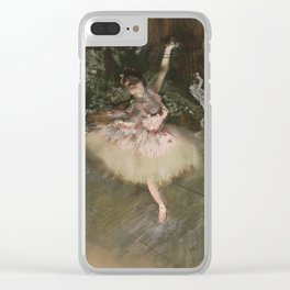 Edgar Degas - The Star Clear iPhone Case