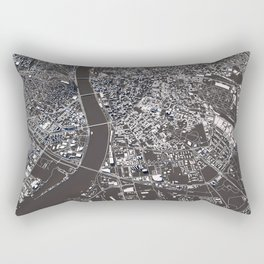 Budapest - city map Rectangular Pillow