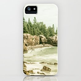 Acadia National Park Maine Rocky Beach iPhone Case