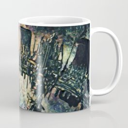 Dead Space Defensive Isaac Artistic Illustration Space Style Coffee Mug