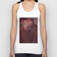 meme Tank Tops featuring MEME 002 Merthur by mushroomtale