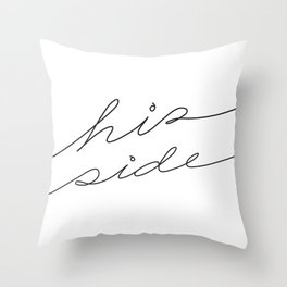 His Side Throw Pillow