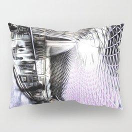 Kings Cross Station Art Pillow Sham
