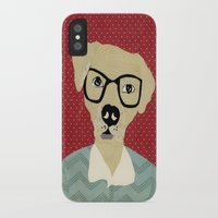 labrador iPhone & iPod Cases featuring Labrador  by Colorfly Studio