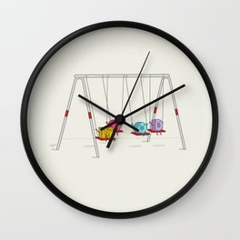 Mood Swings Wall Clock