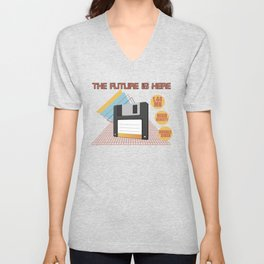 The future is here Unisex V-Neck