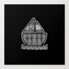 Pirate Ship - Bangor Canvas Print