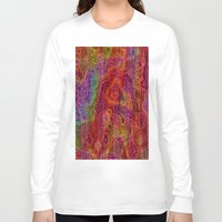 bands Long Sleeve T-shirts featuring Bands II by RingWaveArt