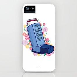 Inhale iPhone Case