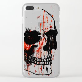 Skull | Skull head | Human skull | Skull love | Goth aesthetic | Bones | Skull decor | Skull design Clear iPhone Case