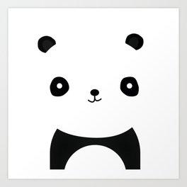 Simple Panda Art Print