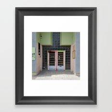 Doors of Perception 9 Framed Art Print