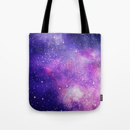 Space Nebula Galaxy Stars Tote Bag