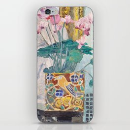 "Charles Rennie Mackintosh ""Cyclamen"" iPhone Skin"