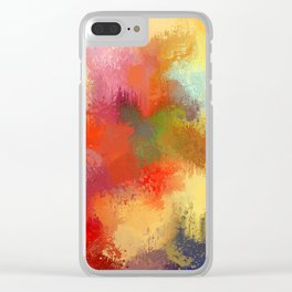 Expressions 29 Clear iPhone Case