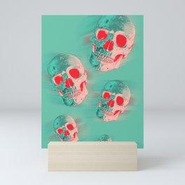 floating shulls Mini Art Print