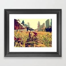 The Immemorial Leaf  Framed Art Print