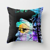 lynch Throw Pillows featuring Brandon Lynch by Brandon Lynch