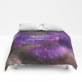 Misunderstood Comforters