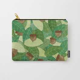 Acorns and Leaves Carry-All Pouch