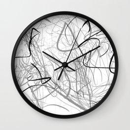Crazy lines Wall Clock