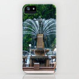 Archibald Fountain, Hyde Park, Sydney iPhone Case