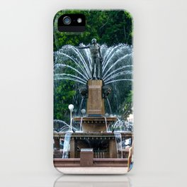 Archibald Fountain iPhone Case
