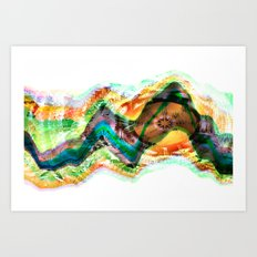 Frequency Number Nine Art Print