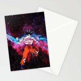 goku starry night Stationery Cards