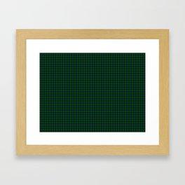 Lauder Tartan Framed Art Print