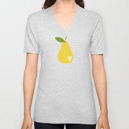 Bitten pears Unisex V-Neck