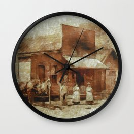 Once Upon a Time In West, Farmers Wall Clock