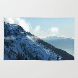 Snowy Slope Rug