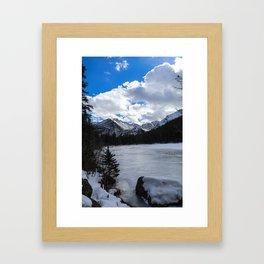 Bear Lake, Colorado Framed Art Print