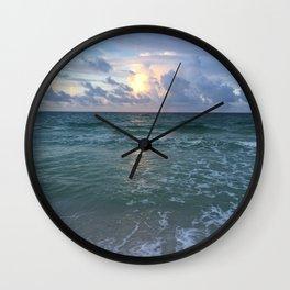 Miramar Sunrise Wall Clock