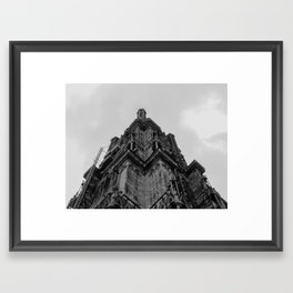 Architecture - Strasbourg Cathedral Framed Art Print