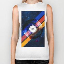 001 - Sacred space-time Biker Tank