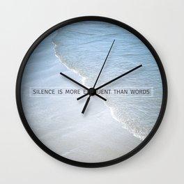 Eloquence Wall Clock