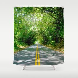 The Old Pali Cathedral Shower Curtain