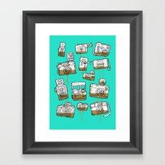 My Lover Framed Art Print