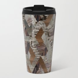 Wood Quilt Travel Mug