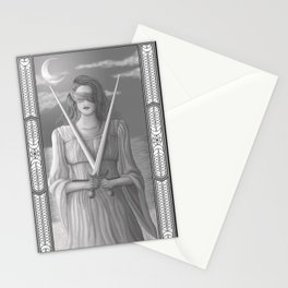Two of Swords Stationery Cards