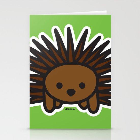 Cute Hedgehog Stationery Cards